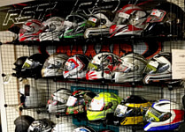 Helmets, Boots & Gloves