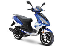 New Nipponia Scooters at Roy Gervis